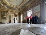 Quatre mois après l'incendie, visite du chantier de la mairie d'Annecy