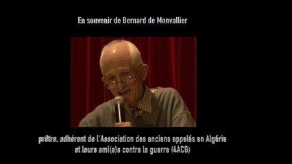 En souvenir de Bernard de Monvallier
