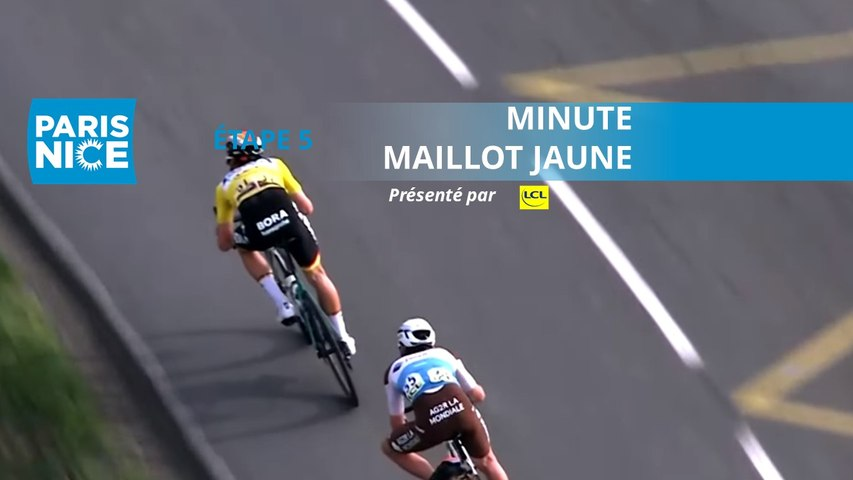 Paris-Nice 2020 - Étape 5 / Stage 5 - Minute Maillot Jaune LCL