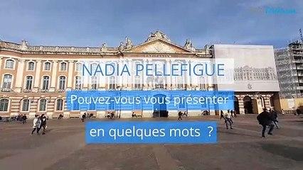 Nadia Pellefigue, candidate de la liste Une nouvelle énergie pour Toulouse pour les Municipales à Toulouse