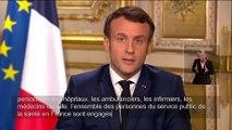 Emmanuel Macron : Extrait discours du 12 mars sur le coronavirus