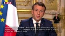 Fermeture des écoles, municipales, chômage partiel : les annonces d'E.Macron sur le coronavirus