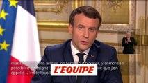 Macron : «Limiter au maximum les rassemblements» - Divers - Coronavirus