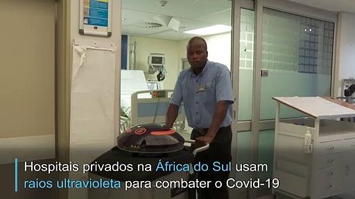 Robôs contra Covid-19