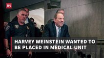 Harvey Weinstein Had Prison Demands