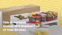 This Functional Meal Prep Station Will Replace Half of Your Kitchen