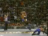 Chris Benoit and Dean Malenko vs. Raven and Perry Saturn