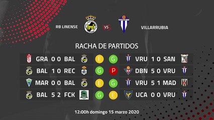 Previa partido entre RB Linense y Villarrubia Jornada 29 Segunda División B
