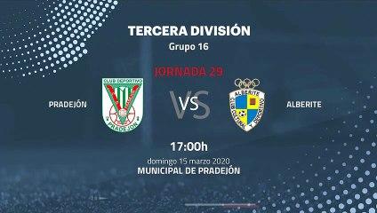 Previa partido entre Pradejón y Alberite Jornada 29 Tercera División