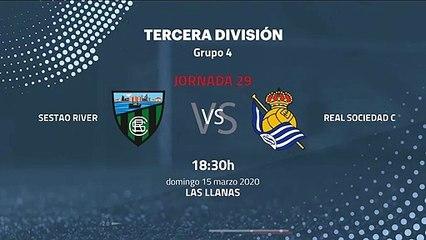 Previa partido entre Sestao River y Real Sociedad C Jornada 29 Tercera División