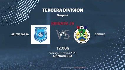 Previa partido entre Ariznabarra y Sodupe Jornada 29 Tercera División