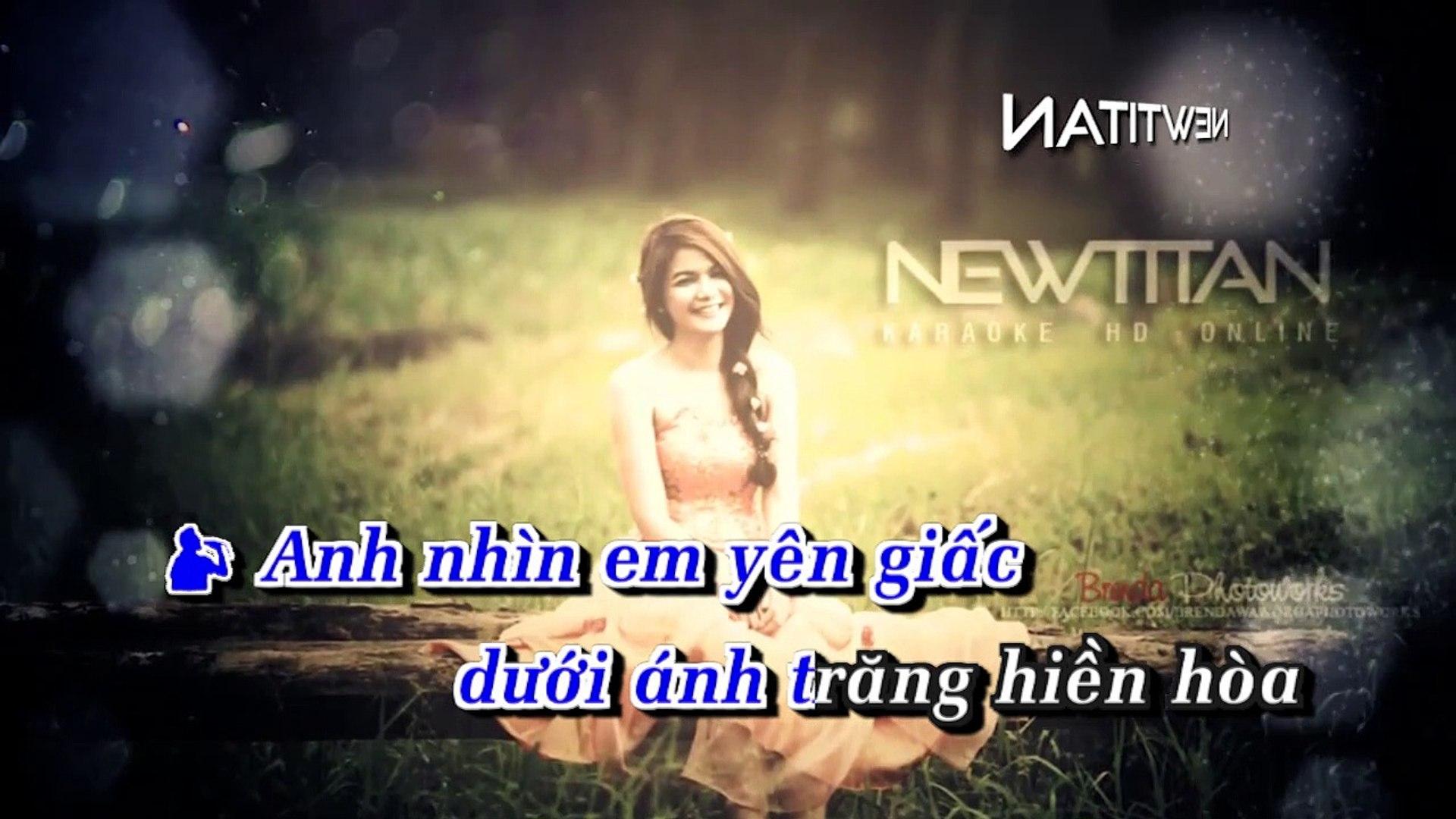 [Karaoke] Chúc Em Ngủ Ngon - Ngô Kiến Huy Ft. Thanh Thảo [Beat]