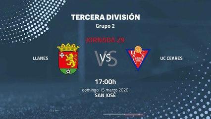 Previa partido entre Llanes y UC Ceares Jornada 29 Tercera División