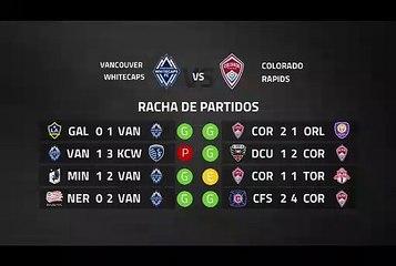Previa partido entre Vancouver Whitecaps y Colorado Rapids Jornada 4 MLS - Liga USA