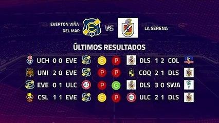 Previa partido entre Everton Viña del Mar y La Serena Jornada 8 Primera Chile