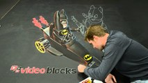 Awesome Lego Batman 3D Art! - AWE ME ARTIST SERIES