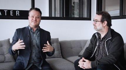 Discussion de salon avec Simon Jodoin
