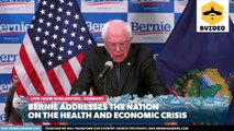 Senator Bernie Sanders Addresses the Nation on the Health and Economic Crisis