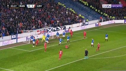 Rangers 1-3 Bayer Leverkusen | Europa League 19/20 Match Highlights