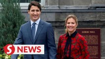Canadian PM Justin Trudeau's wife Sophie tests positive for coronavirus