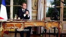 Coronavirus : les annonces d'Emmanuel Macron face à l'épidémie