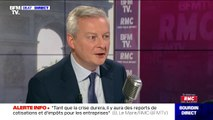 """Bruno Le Maire estime que la fermeture des frontières aux Européens par Trump """"est une aberration"""""""