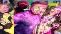 Holi Celebration Celebrity(Tamil)