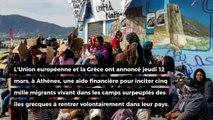 L'UE et la Grèce comptent aider les migrants à rentrer dans leur pays