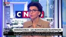 """VIRUS - Rachida Dati, candidate LR aux municipales à Paris, juge que maintenir le scrutin, comme annoncé par Emmanuel Macron, était le """"bon choix"""" - VIDEO"""