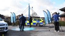 Crimewatch filming at Preston docks