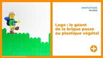 Lego : le géant de la brique passe au plastique végétal