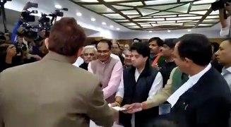 Scindia files nomination for Rajya Sabha