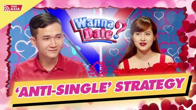 A pretty girl set an Anti-single strategy
