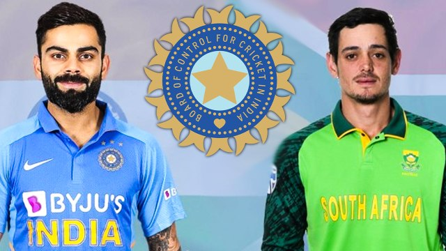 IND VS SA ODI SERIES | 2nd and 3rd ODI to be played behind closed doors