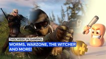 This Week in Gaming: Worms, Warzone, The Witcher and more!