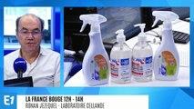 La France bouge : Ronan Jezequel, PDG laboratoire Cellande : spécialiste de l'hygiène des mains et des produits d'entretien écologiques, depuis 1982 à Saint-Vincent-en-Bresse