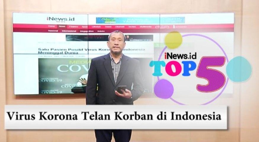 TOP 5, Virus Korona Telan Korban di Indonesia dan Sri Mulyani Minta BPJS Buka-bukaan