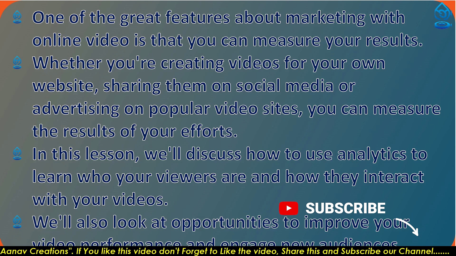 Measuring video performance In Digital Marketing | Video Performance | Class 82 |  @Aanav Creations   @Technical Maanav