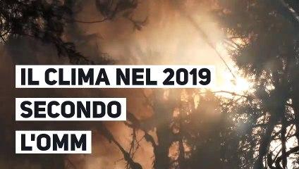 Il clima nel 2019 secondo l'OMM
