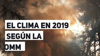 El clima en 2019 según la OMM
