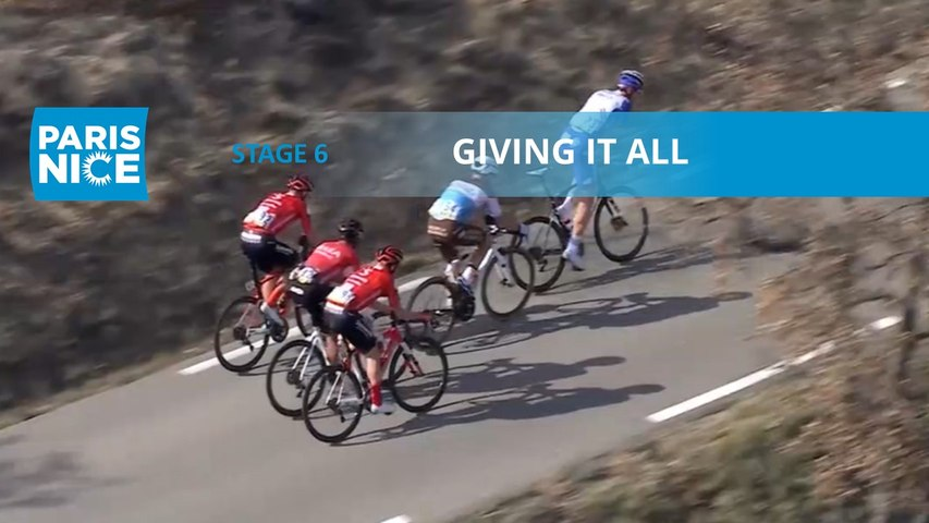 Paris-Nice 2020 - Étape 6 / Stage 6 - Giving it all