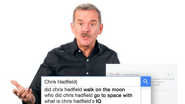 Chris Hadfield Answers the Web's Most Searched Questions