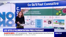 Coronavirus: les sites d'alimentation pris d'assaut après le discours d'Emmanuel Macron