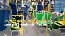 Coronavirus : comment s'effectue la désinfection des transports en commun ?