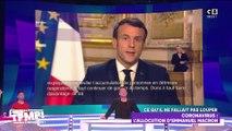 Coronavirus : Retour sur l'allocution d'Emmanuel Macron
