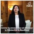 Mobilisation des services de la Ville contre le coronavirus : message de la Maire aux Parisiennes et aux Parisiens.