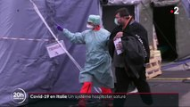 Coronavirus en Italie : le système hospitalier saturé
