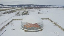 Russian Family Moves Inside Dome In Experimental Living