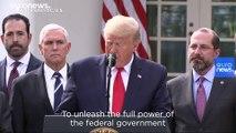 President Donald Trump declares national emergency in U.S. over coronavirus