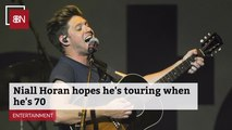 Niall Horan Wants To Tour Forever